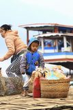 Λάος luang prabang Στοκ εικόνα με δικαίωμα ελεύθερης χρήσης