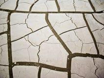 λάσπη ρωγμών Στοκ εικόνα με δικαίωμα ελεύθερης χρήσης