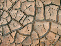 λάσπη ρωγμών Στοκ Εικόνες