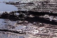 Λάσπη στο εργοτάξιο οικοδομής Στοκ Εικόνα