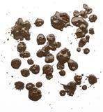 Λάσπη Splattered με το σχέδιο σταλαγματιάς Στοκ Φωτογραφίες