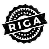Λάστιχο γραμματοσήμων της Ρήγας grunge Στοκ Εικόνες