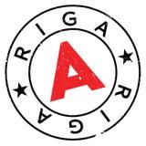 Λάστιχο γραμματοσήμων της Ρήγας grunge Στοκ φωτογραφία με δικαίωμα ελεύθερης χρήσης