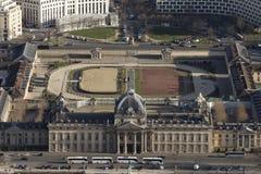 Λάχανο Ã ‰ militaire, Παρίσι από το γύρο Άιφελ Στοκ Εικόνα