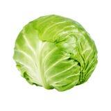Λάχανο που απομονώνεται πράσινο Στοκ Εικόνες