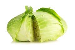 Λάχανο που απομονώνεται στο άσπρο υπόβαθρο Στοκ Εικόνες