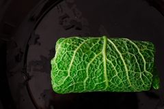 λάχανο που γεμίζεται Στοκ εικόνα με δικαίωμα ελεύθερης χρήσης