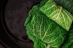 λάχανο που γεμίζεται Στοκ Εικόνα