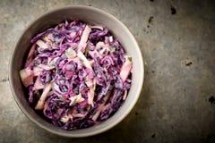 Λάχανο σαλάτας slaw Στοκ φωτογραφίες με δικαίωμα ελεύθερης χρήσης