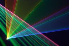 λέιζερ χρώματος ακτίνων Στοκ φωτογραφία με δικαίωμα ελεύθερης χρήσης