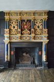 Λέιτσεστερ - το Guildhall - περίκομψη εστία στοκ εικόνες