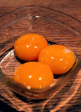 λέκιθοι αυγών κινηματογ&r στοκ εικόνες