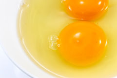 Λέκιθος αυγών στοκ εικόνες