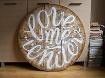 Λέξεις αγάπης, κείμενο αγάπης, επιστολές αγάπης Στοκ Εικόνες
