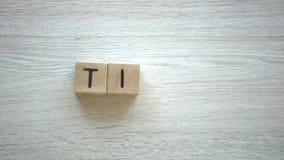 Λέξη ακρών φιαγμένη από ξύλινους κύβους, πληροφοριακές παρουσιάσεις, blogging οδηγίες φιλμ μικρού μήκους
