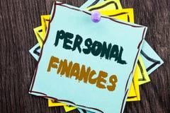 Λέξη, γράψιμο, προσωπικοί πόροι χρηματοδότησης κειμένων Επιχειρησιακή έννοια για το οικονομικό σχέδιο επένδυσης χρηματοδότησης γι Στοκ εικόνα με δικαίωμα ελεύθερης χρήσης