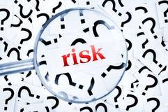 Λέξη κινδύνου Στοκ εικόνα με δικαίωμα ελεύθερης χρήσης