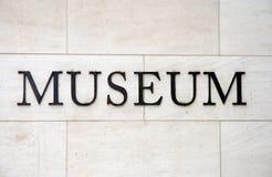 λέξη μουσείων στοκ εικόνα με δικαίωμα ελεύθερης χρήσης