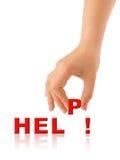 λέξη οδηγιών χεριών στοκ εικόνα με δικαίωμα ελεύθερης χρήσης
