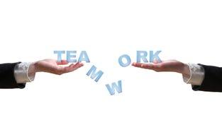 λέξη ομαδικής εργασίας χ&eps Στοκ εικόνα με δικαίωμα ελεύθερης χρήσης