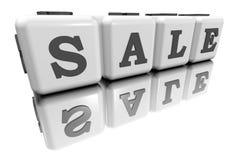 λέξη πώλησης Στοκ Εικόνα