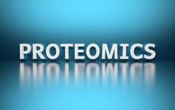 Λέξη Proteomics ελεύθερη απεικόνιση δικαιώματος