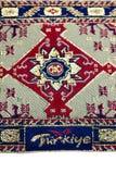 λέξη turkiey κεντητικής Στοκ φωτογραφία με δικαίωμα ελεύθερης χρήσης