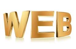 λέξη www Στοκ φωτογραφία με δικαίωμα ελεύθερης χρήσης