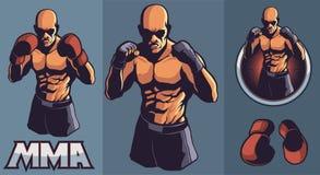 Λέσχη μαχητών MMA Στοκ φωτογραφία με δικαίωμα ελεύθερης χρήσης