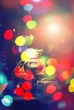 Λέσχη νύχτας μουσικής του DJ, υπόβαθρο του DJ αστεριών μουσικής Στοκ Φωτογραφίες