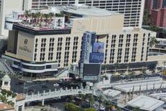 Λέσχη παραλιών εναέριου Drai άποψης στο ξενοδοχείο μπουτίκ του Κρόμγουελ και χαρτοπαικτική λέσχη στο Λας Βέγκας Στοκ φωτογραφία με δικαίωμα ελεύθερης χρήσης