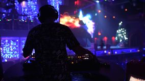 λέσχη DJ απόθεμα βίντεο