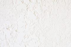 Λήξη του τοίχου με την άσπρη σύσταση στόκων Κατάλληλος για στοκ εικόνες