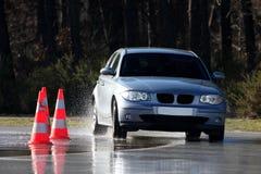 λήψη αυτοκινήτων κάμψεων στοκ εικόνες