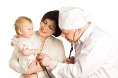 λήψη γιατρών Στοκ Εικόνες