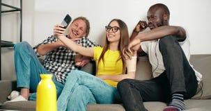 Λήψη ενός Selfie απόθεμα βίντεο