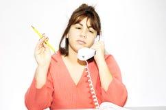 λήψη κλήσης στοκ φωτογραφία με δικαίωμα ελεύθερης χρήσης