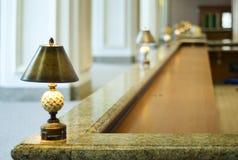 λήψη ξενοδοχείων Στοκ Εικόνες