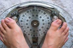 Λήψη του βάρους στοκ εικόνα με δικαίωμα ελεύθερης χρήσης