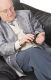 λήψη χαπιών στοκ εικόνα με δικαίωμα ελεύθερης χρήσης