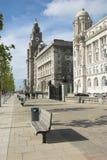 Λίβερπουλ pierhead στοκ φωτογραφίες με δικαίωμα ελεύθερης χρήσης