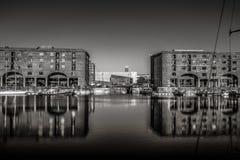 Λίβερπουλ Αλβέρτος Docks Στοκ εικόνα με δικαίωμα ελεύθερης χρήσης