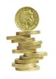 λίβρα νομισμάτων Στοκ Εικόνα