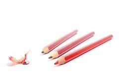 λίγα απομονωμένα μολύβια στοκ φωτογραφίες με δικαίωμα ελεύθερης χρήσης