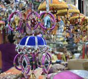 Λίγη αγορά τεχνών της Ινδίας σε Σινγκαπούρη στοκ φωτογραφία
