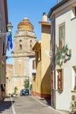 Λίγη εκκλησία σε Sardina στοκ εικόνες με δικαίωμα ελεύθερης χρήσης