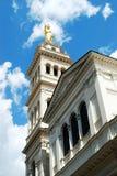 Λίγη εκκλησία Sacro Cuore στη Ρώμη κοντά στο σταθμό τερμάτων Στοκ Φωτογραφίες