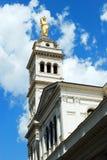 Λίγη εκκλησία Sacro Cuore στη Ρώμη κοντά στο σταθμό τερμάτων Στοκ Φωτογραφία
