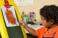 Λίγη ζωγραφική παιδιών Στοκ Εικόνες