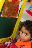 Λίγη ζωγραφική παιδιών Στοκ Φωτογραφία